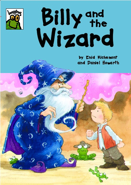 Cover image for Billy and the Wizard