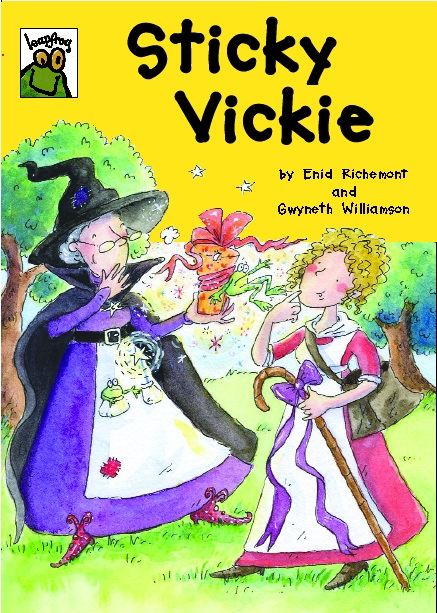 Cover image for Sticky Vickie